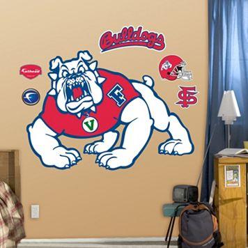 Fathead Fresno State Bulldogs Logo Wall Decals