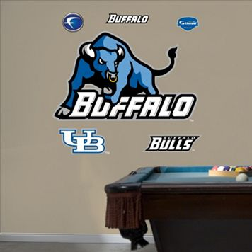 Fathead Buffalo Bulls Logo Wall Decals