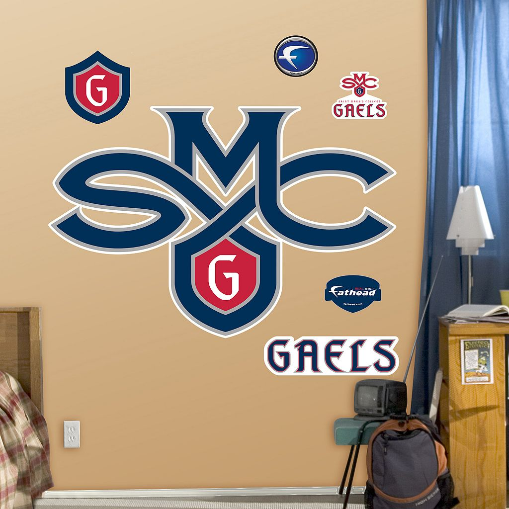Fathead Saint Mary's College Gaels Logo Wall Decals