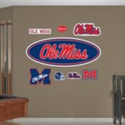 Fathead Ole Miss Rebels Logo Wall Decals