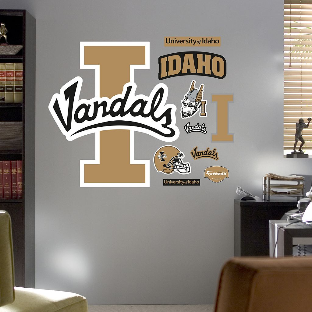 Fathead Idaho Vandals Logo Wall Decals