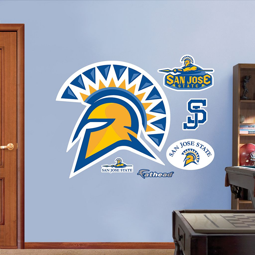 Fathead San Jose State Spartans Logo Wall Decals