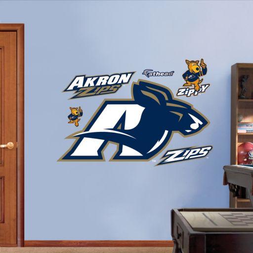 Fathead Akron Zips Logo Wall Decals