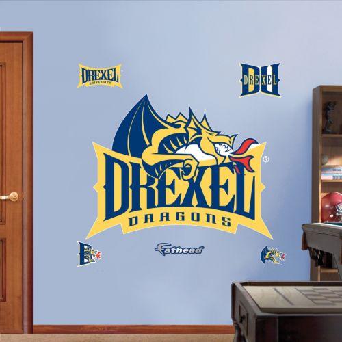 Fathead Drexel Dragons Wall De...