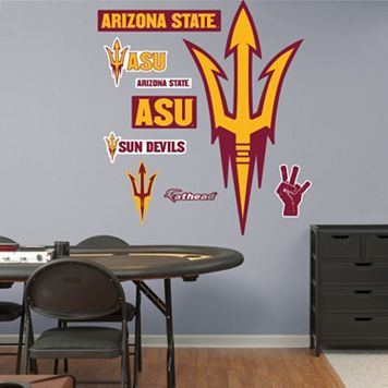 Fathead Arizona State Sun Devils Wall Decals
