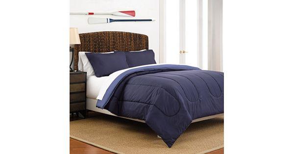 martex solid reversible comforter. Black Bedroom Furniture Sets. Home Design Ideas