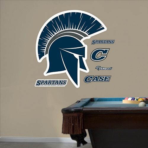 Fathead Case Western Reserve Spartans Wall Decals