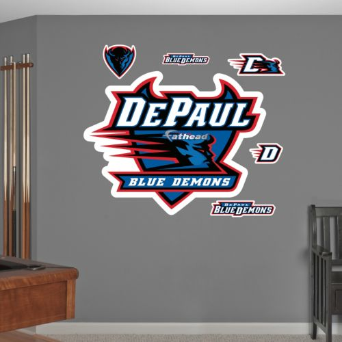Fathead DePaul Blue Demons Wall Decals