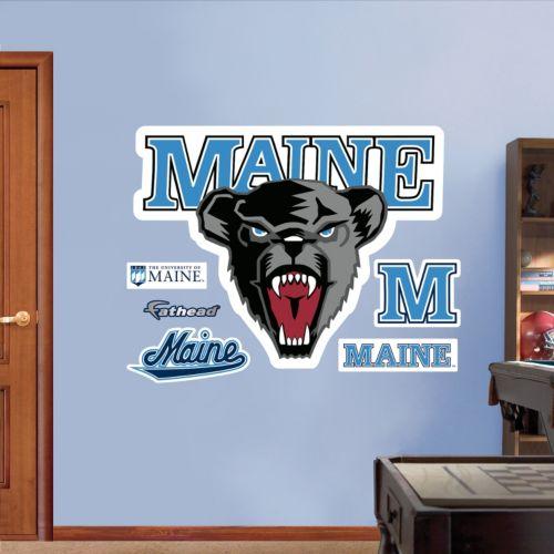 Fathead Maine Black Bears Wall Decals