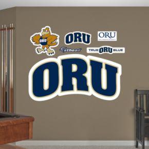 Fathead Oral Roberts Golden Eagles Wall Decals