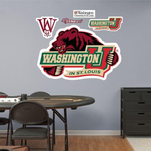 Fathead Washington University Bear Wall Decals