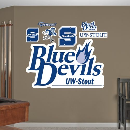 Fathead Stout Blue Devils Wall Decals