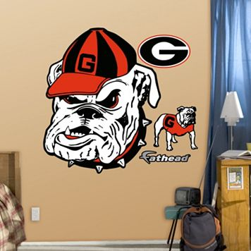 Fathead Georgia Bulldogs Wall Decals
