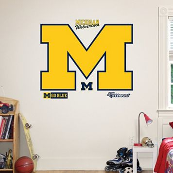 Fathead Michigan Wolverines Wall Decals
