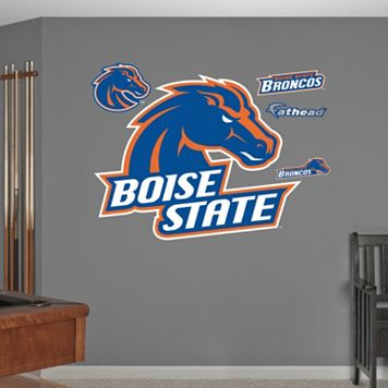 Fathead Boise State Broncos Wall Decals
