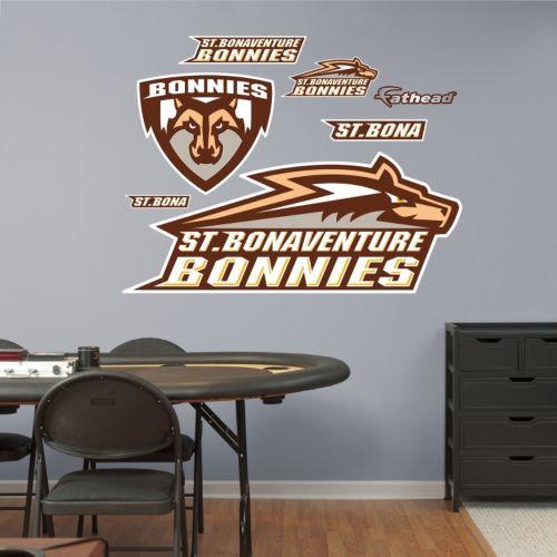 Fathead St. Bonaventure Bonnies Wall Decals