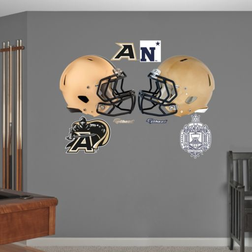Fathead Army Black Knights and Navy Midshipmen Wall Decals