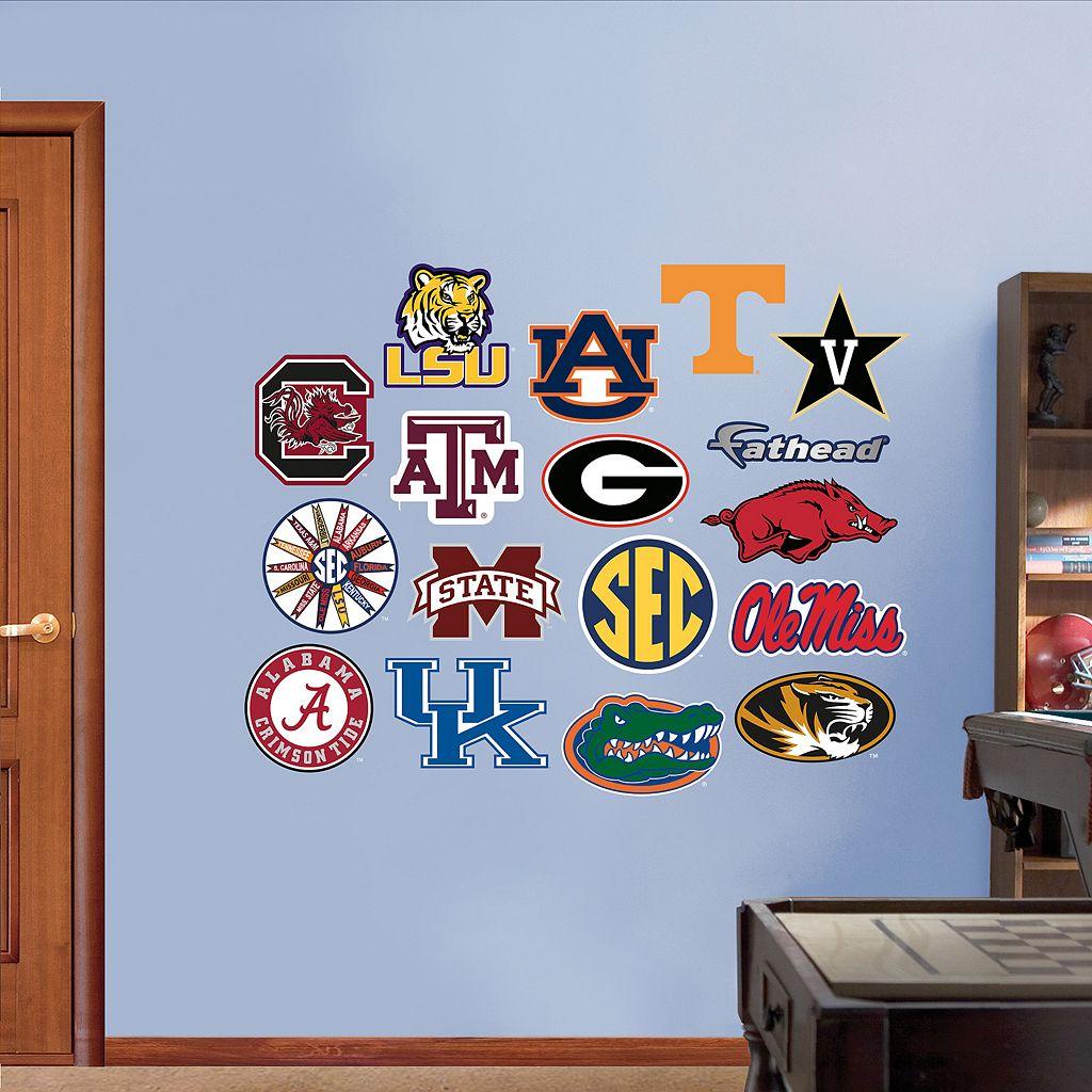 Fathead SEC Team Wall Decals