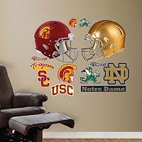 Fathead USC Trojans & Notre Dame Fighting Irish Wall Decals