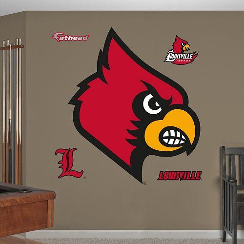 Fathead Louisville Cardinals Wall Decals