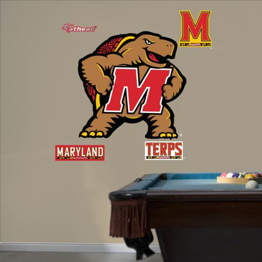 Fathead Maryland Terrapins Wall Decals