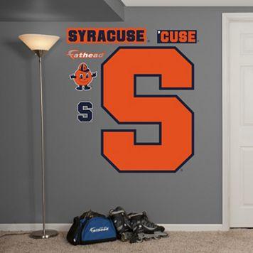 Fathead Syracuse Orange Wall Decals