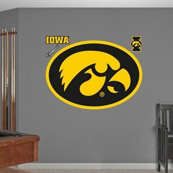 Fathead Iowa Hawkeyes Wall Decals