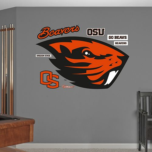 Fathead Oregon State Beavers Wall Decals