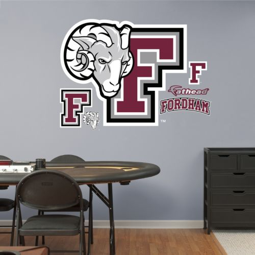 Fathead Fordham Rams Wall Decals