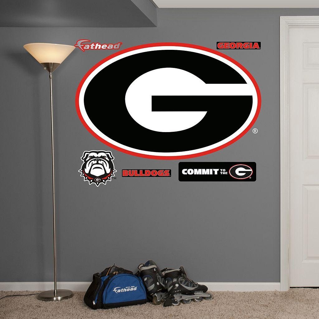 Fathead Georgia Bulldogs 6-Piece Wall Decals