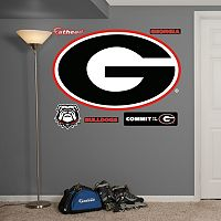 Fathead Georgia Bulldogs 6-Piece Wall Decals