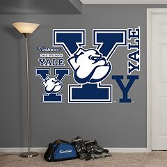 Fathead Yale Bulldogs Wall Decals