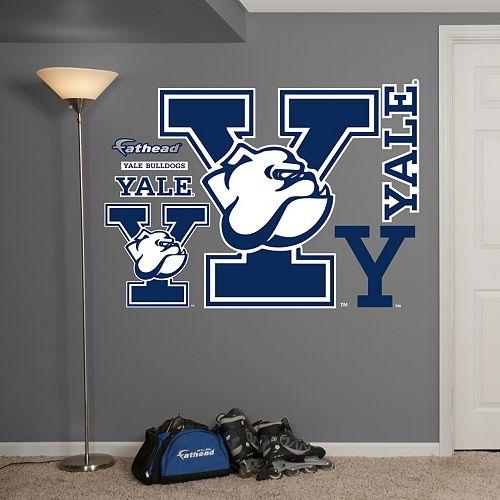 Fathead Yale Bulldogs Wall Decals