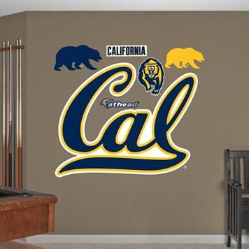 Fathead California Golden Bears Wall Decals