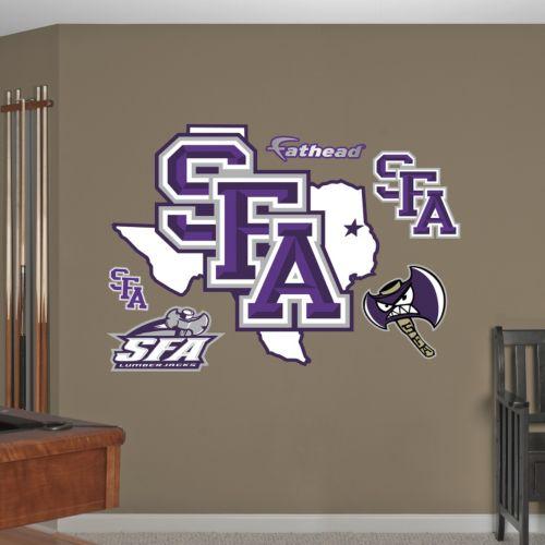 Fathead Stephen F. Austin Lumberjacks Wall Decals
