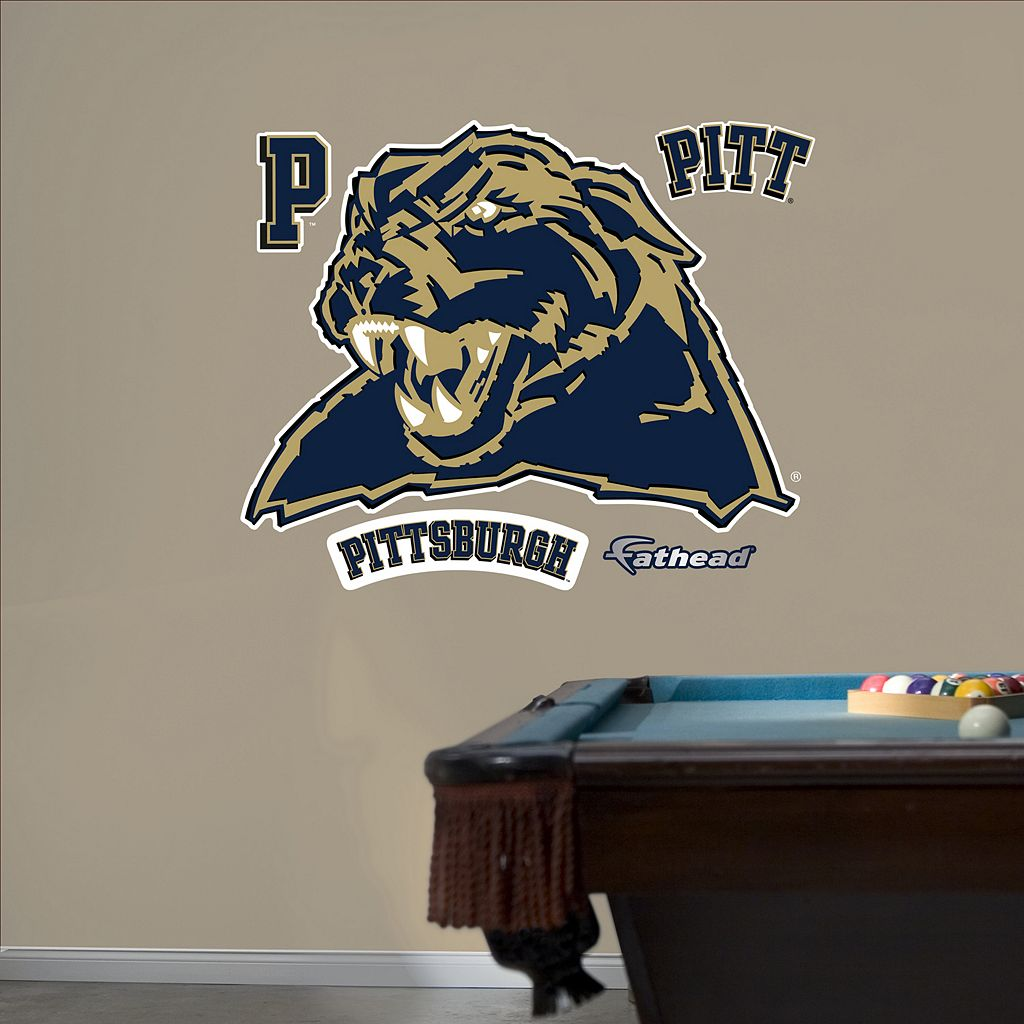 Fathead Pittsburgh Panthers Wall Decals