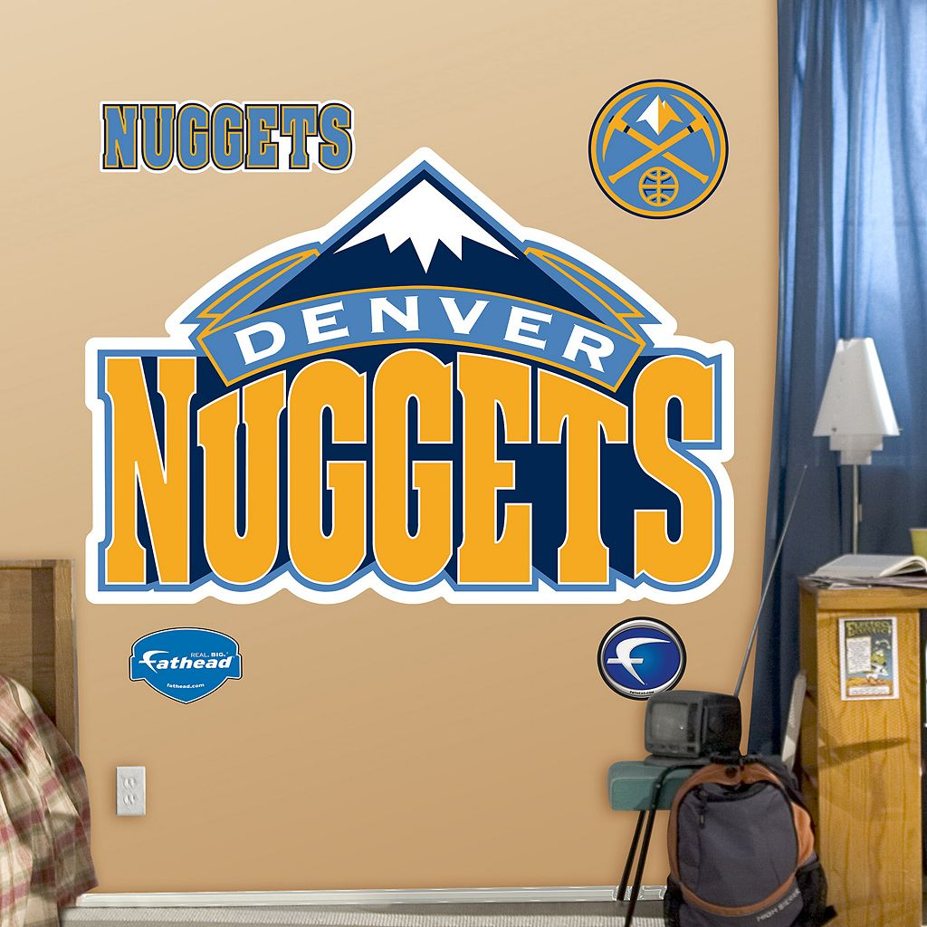Fathead Denver Nuggets Logo Wall Decals