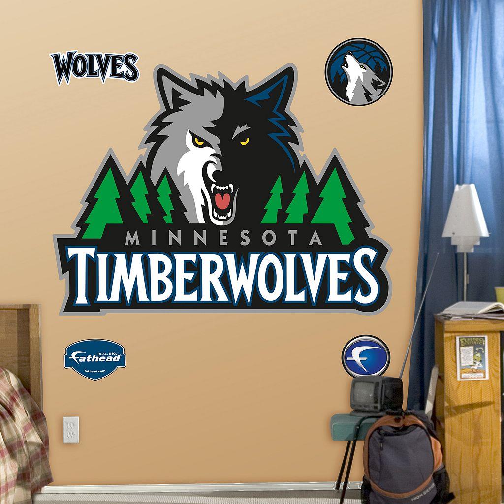Fathead Minnesota Timberwolves Logo Wall Decals