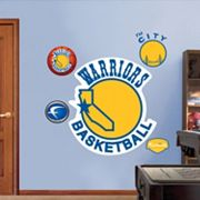 Fathead Golden State Warriors Classic Logo Wall Decals