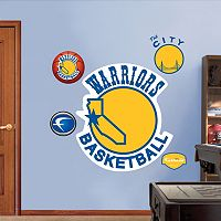 Fathead Golden State Warriors Classic Logo Wall Decals