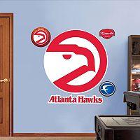 Fathead Atlanta Hawks Classic Logo Wall Decals