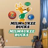 Fathead Milwaukee Bucks Classic Logo Wall Decals