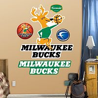 Fathead Milwaukee Bucks Classic Logo Wall Decals