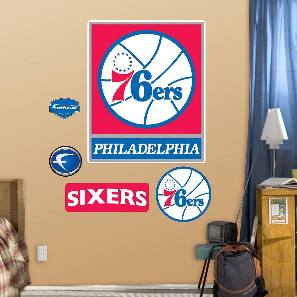 Fathead Philadelphia 76ers Logo Wall Decals