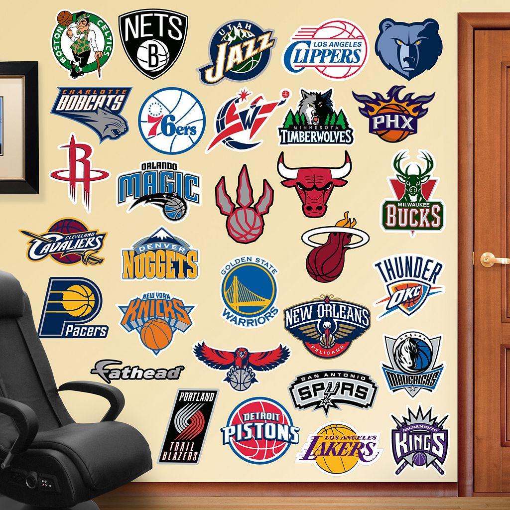 Fathead NBA Logo Collection Wall Decals