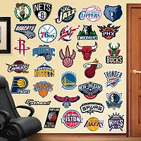 Fathead NBA Logo Collection Wall Decals