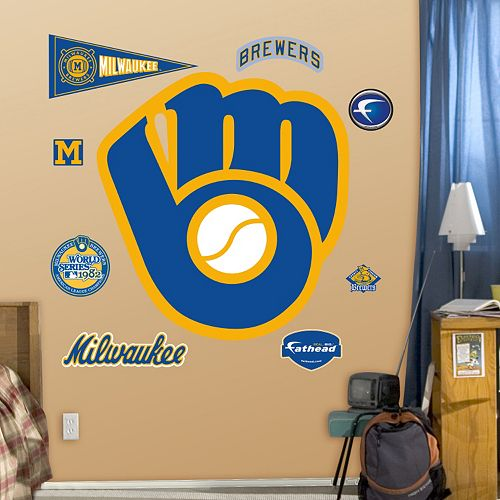 Fathead Milwaukee Brewers Wall Decals