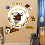 Fathead San Diego Padres Retro Wall Decals