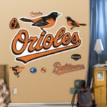 Fathead Baltimore Orioles Wall Decals