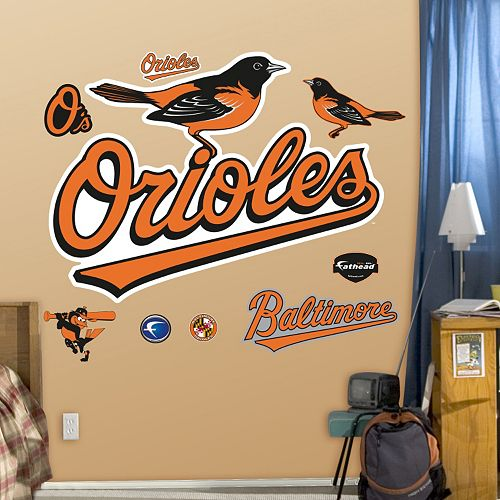 Fathead Baltimore Orioles Wall Decals